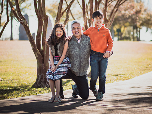 Dr. Nguyen and his family