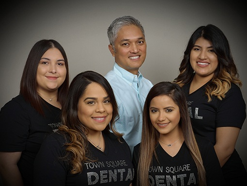 The Town Square Dental team